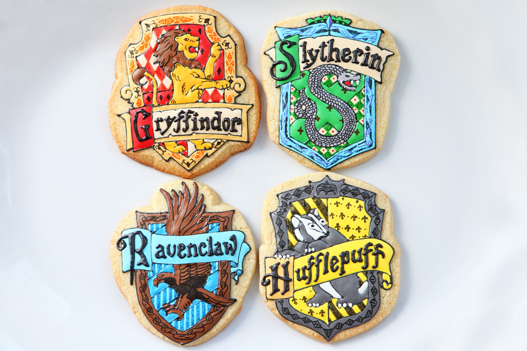 Harry Potter House Crests Baked Happy