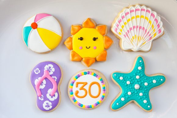 Baked Happy - Beach Cookies