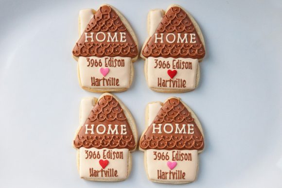 Baked Happy - Personalized House Warming Cookies