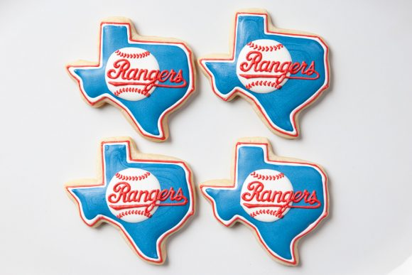 Baked Happy - Texas Rangers