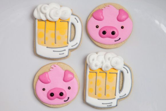 Baked Happy - Pigs & Brews