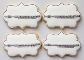 Baked Happy - Flute Cookies