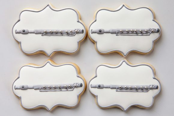 Baked Happy - Flute Cookies