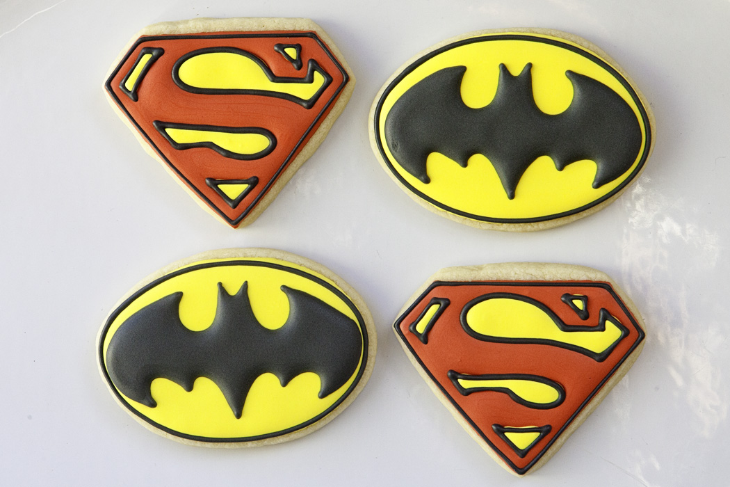 Batman Vs Superman Baked Happy
